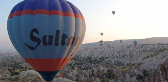 Cappadocia 2 Days Tour with Hot-Air Balloon Ride - By Plane