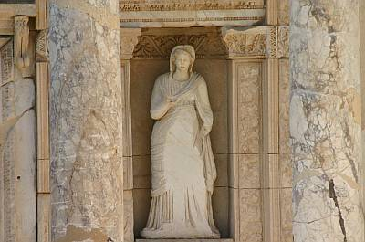 Ephesus; Ancient Greek city of Asia Minor, near the mouth of the Menderes River, in what is today West Turkey, South of Smyrna (now Izmir).