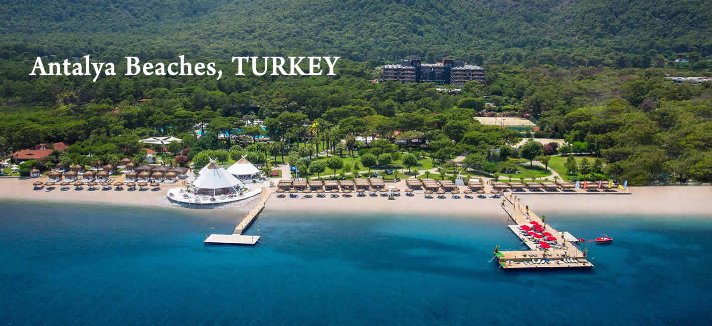 Antalya package tours at best Beach in Turkey